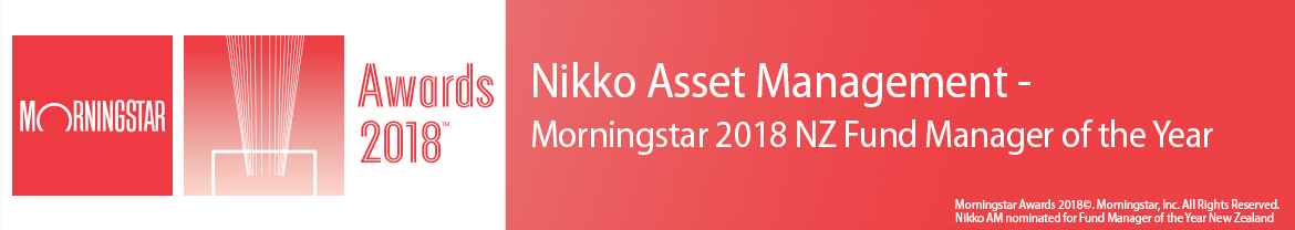 Nikko AM named Morningstar 2018 NZ Fund Manager of the Year